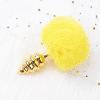 Yellow rabbit tail plug deluxe version
