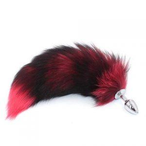 Anal Plug bright red tail