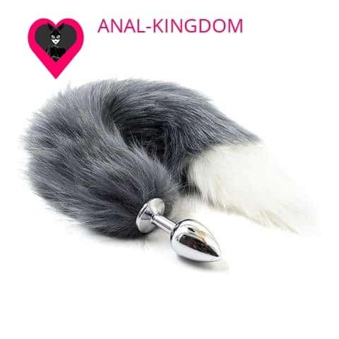 Cat tail anal plug