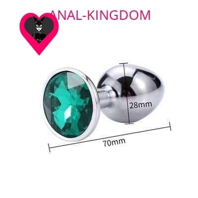 Little Diamond emerald plug