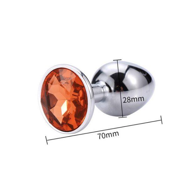 Little Orange diamond plug