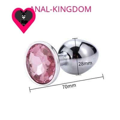 Pink diamond plug