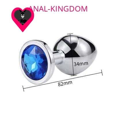 Medium Blue Diamond Plug