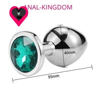 Medium Diamond emerald plug