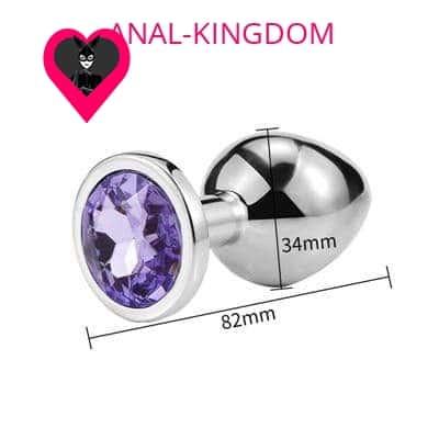 Medium Light Purple Diamond Plug