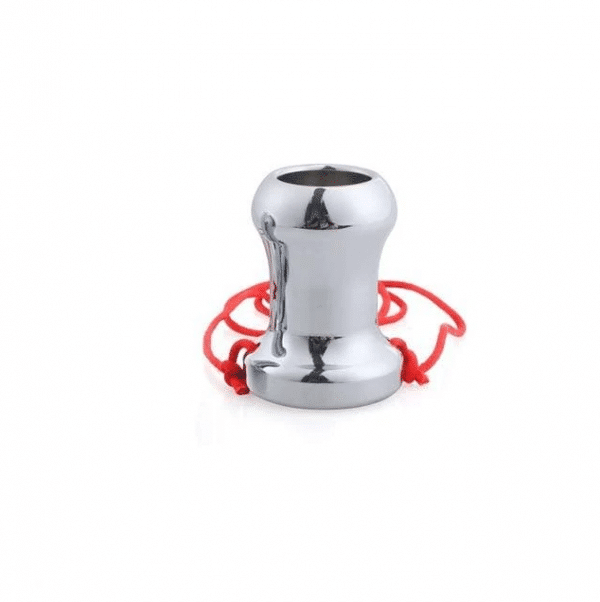 Tunnel anal plug with string