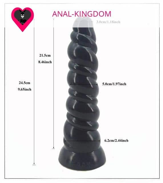 Size Plug anal XXL anus destruction
