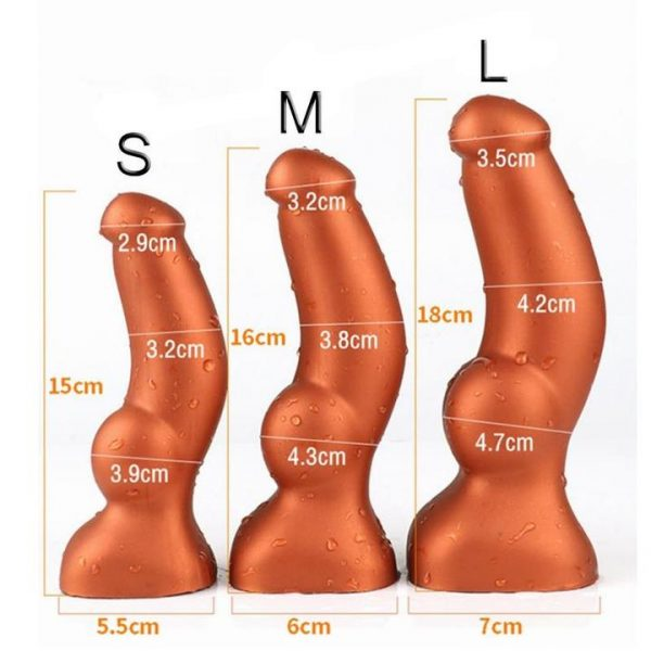 Size XL Anal Plug with insertable testicle