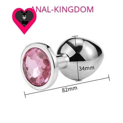 Small Pink Diamond Plug