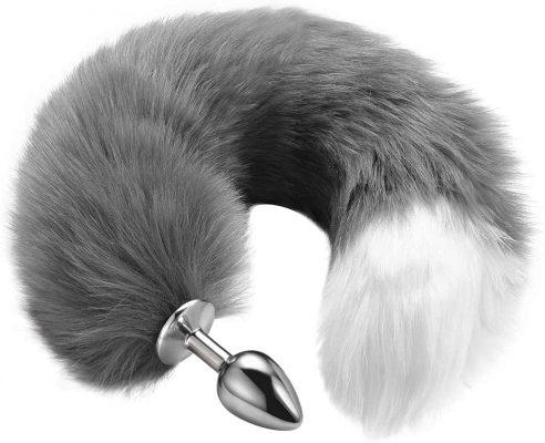 Anal plug tail